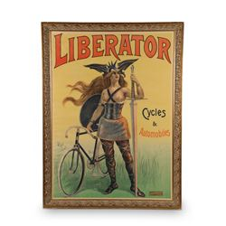 Liberator Cycles & Automobiles Poster