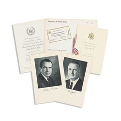 Nixon Inauguration Invitation Ephemera