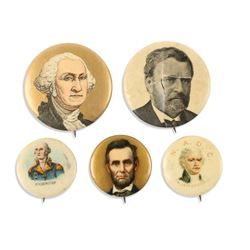 Early US Political Pinbacks