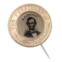 Abraham Lincoln US Political Pinback