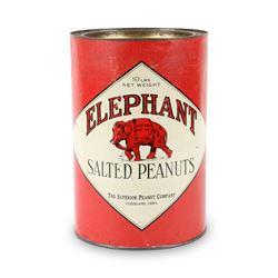Elephant Salted Peanuts Tin