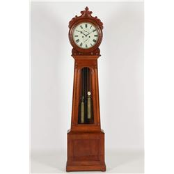"Scottish ""Drumhead"" Tall Case Clock"
