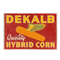 Dekalb Corn Tin Sign