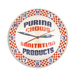 Purina Chow Double Bubble Clock