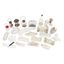 Pressed Glass Candy Containers