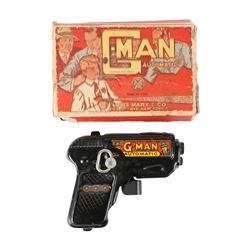 Marx G-Man Toy Pistol