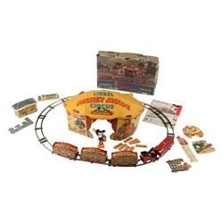 Lionel Train Mickey Mouse Circus Set