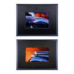 "Hale, Tom. ""Jaguar"" Acrylic on Canvas"