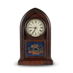 Ansonia  Octagon  Gothic Mantel Clock