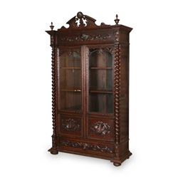 Impressive Jacobean Oak Bookcase