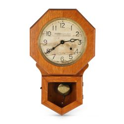 "Pequegnat ""Preston"" Wall Clock"