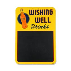 Wishing Well Drinks Tin Chalkboard