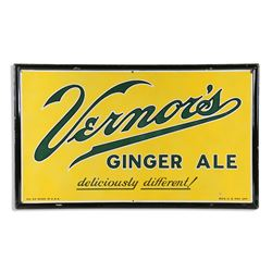 Vernors Ginger Ale Porcelain Sign