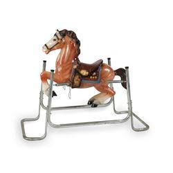 1950s Rocking Horse