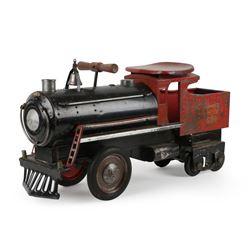 "Keystone ""Ride On"" Toy Locomotive"