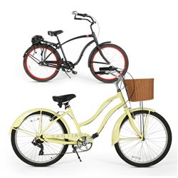 His & Hers Cruiser Bicycles