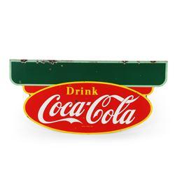 Coca-Cola Porcelain Store Sign