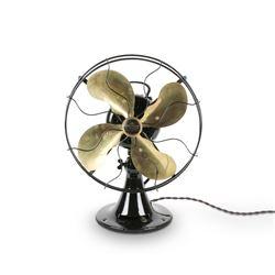 Emerson Brass Blade Fan