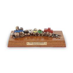 Riley Express Bronze Locomotive