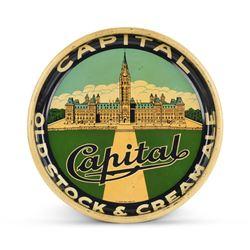 Capital Tin Litho Beer Tray
