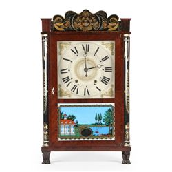 Pillar & Splat Pawfoot Mantel Clock