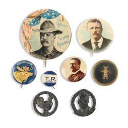 Roosevelt Political Pinbacks, Lapel Studs