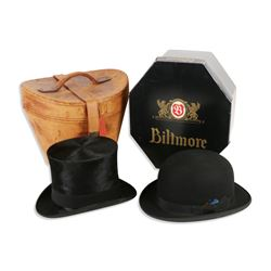 Gentleman's Bowler & Top Hat