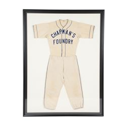 Chapman's Foundry Baseball Uniform