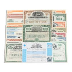 Early American Stock Certificates