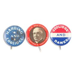 Coolidge Political Pinbacks