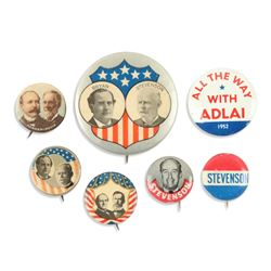 1900-1956 US Political Pinbacks