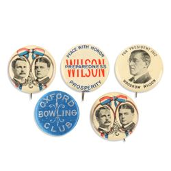 US Political Pinbacks, Lapel Stud