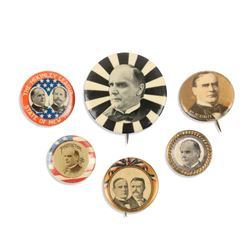 1996-1900 Political Pinbacks, Lapel Studs