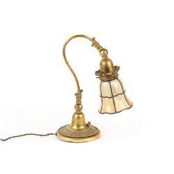 Art Nouveau Bronze Desk Lamp