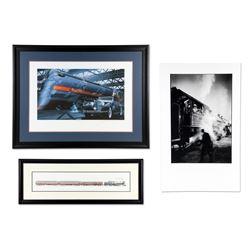 Locomotive Theme Prints