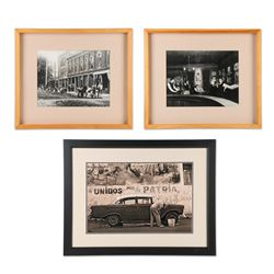 Street Scene Photographs & Painting