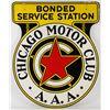 Image 4 : Chicago Motor Club Porcelain Sign