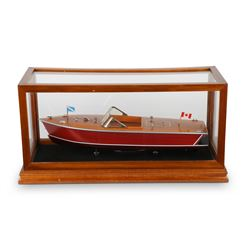 Chris-Craft Model Speed Boat