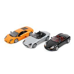BMW, Lamborghini & Porsche Model Cars