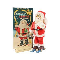 Jolly Santa Japan Battery Op Toy