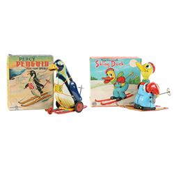 Japan Mechanical & Friction Skier Toys