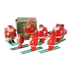 Skiing Santa Toys