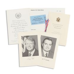 Carter Inauguration Ephemera