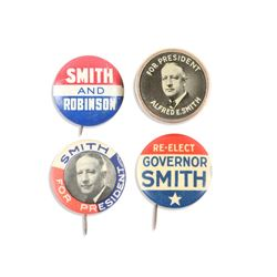 Smith & Robinson Political Pinbacks