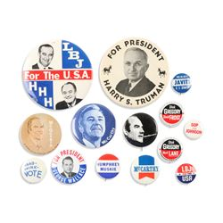 1950s-60s Political Pinbacks