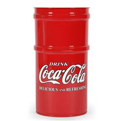 Coca-Cola Trash Can
