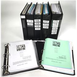 Once Upon a Time collection of scripts and production materials for Season 1, Episodes 1-20.
