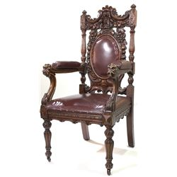 """""""Evil Queen"""" chair Once Upon a Time Seasons 1-2."""