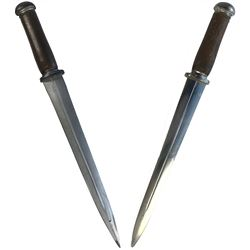 """""""Emma Swan"""" (2) prop boot knives from Once Upon a Time Season 1, Episode 3 and Season 2, Episode 3."""