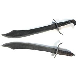 Troll (2) prop swords from Once Upon a Time Season 1, Episode 3.